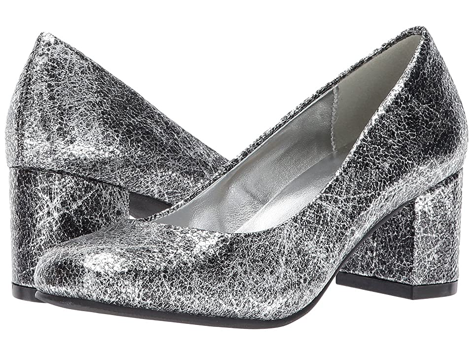 Image of Amiana 15-A5500 (Little Kid/Big Kid/Adult) (Silver Pico Metallic) Girl's Shoes