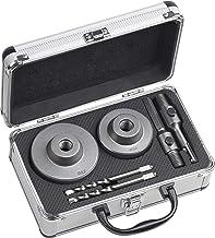 Werkzeyt Boorkronenset 6-delig - Ø 68 + 82 mm - 50 mm snijdiepte - SDS-Plus- & zeskant-adapter - 2 centreerboren/gatboor v...