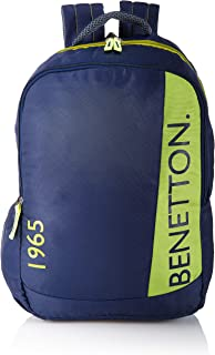 United Colors of Benetton 46 cms Blue Casual Backpack (0IP6COLBPNL6I)