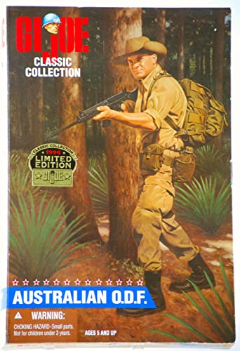 GI Joe Classic Collection 1996 Limited Edition Australian O.D.F