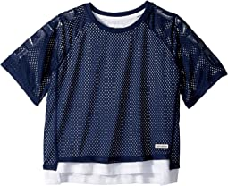 Double Layer Mesh Raglan (Big Kids)