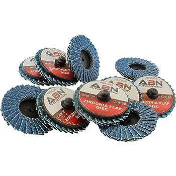 3//8 Width 25000 RPM Taipan Abrasives TO-5292 Original Aluminum Oxide Flap Wheel 2 Dia 120 Grit 1//4 Shank