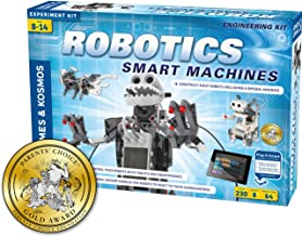 Thames & Kosmos | Robotics Smart Machines | For Kids 8 and up | STEM Kit builds 8 Robots | Full Color Manual | Parents' Ch...