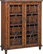 Stein World Furniture Hanover Chippendale Cabinet, Rich Oak