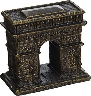 Design Toscano SP16068 Icône de ParisArc de Triomphe, Bronze, 6.5 x 10 x 9 cm