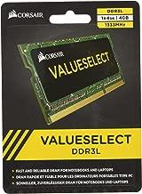 Corsair CMSO4GX3M1C1333C9 4GB (1x4GB) 1333MHz PC-10600 204-Pin DDR3 SODIMM Laptop Memory 1.35V