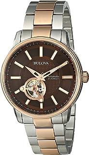 Bulova - 98A140 - Reloj para Hombres, Correa de Acero Inoxidable
