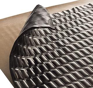 Siless Black 80 mil 18 sqft Sound Deadening mat - Sound Deadener Mat - Car Sound Dampening Material - Sound dampener - Sound deadening Material Sound Insulation - Car Sound deadening
