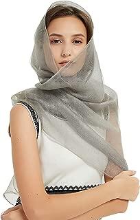 Scarfs for Women Lightweight Fashion Soft Large Shawls and Wraps Vintage Print Long Head Scarfs by J'Mysticon