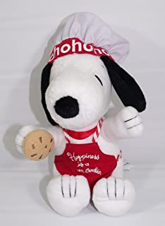 XOX5000 Happiness is a Warm Cookie Hallmark Chef Snoopy Plush