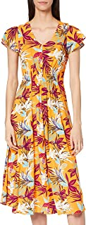 Joe Browns Women's Sunrise Dress Casual, Gold, 8