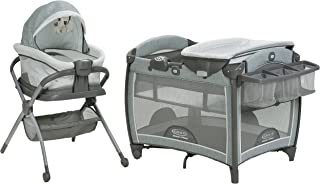 Graco Pack 'n Play Day2Dream Playard | Includes Portable Napper, Full-Size Infant Bassinet, and Diaper Changer, Mullaly