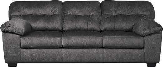 Signature Design by Ashley - Accrington Contemporary Queen Size Sofa Sleeper, Granite Gray