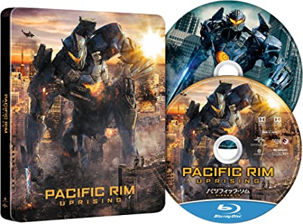 【Amazon.co.jp限定】パシフィック・リム:アップライジング スチール・ブック仕様 ブルーレイ+DVDセット(特典映像ディスク付き) [Blu-ray]