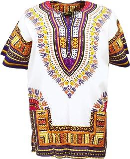 896abceaeb7d6e KlubKool Dashiki Shirt Tribal African Caftan Boho Unisex Top Shirt