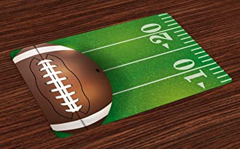 Amazon Com Football Placemats