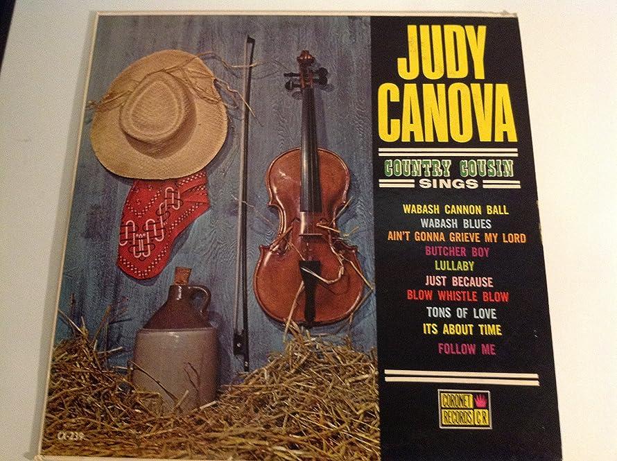 Judy Canova Country Cousin Sings Country Bluegrass Music Original Vinyl