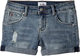 "2 1/2"" Roll Cuff Shorts in Nightstar (Big Kids)"