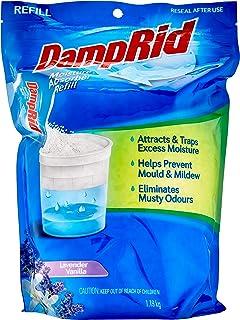 DAMP RID Moisture Absorber Refill Lavender Vanilla, 1.19 kilograms