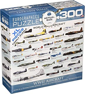EuroGraphics WWII Airplanes 300 Piece Puzzle (Small Box) Puzzle, multi