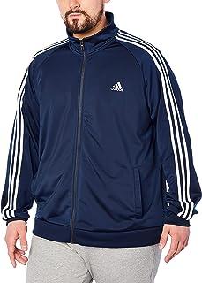 9d27b304d28 adidas Men s Essentials 3-Stripe Tricot Track Jacket