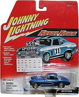 Johnny Lightning Rebel Rods - '57 Vette Gasser