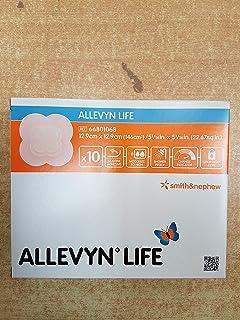 "Smith & Nephew Foam Dressing Allevyn Life 5 1/16 X 5.1/16"" Quadrilobe Sterile (#66801068, Sold Per Box)"