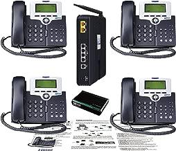 XBlue XB2500-04 X-25 4-VoIP Phone Bundle