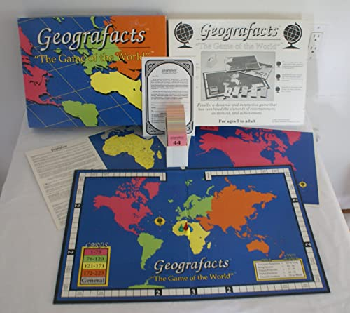 Geografacts Educational Board Game