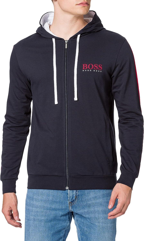 BOSS Authentic Jacket H Sudadera con Capucha para Hombre