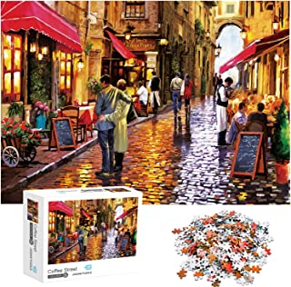 Jigsaw Puzzles 1000 Pieces for Adults Lover Street Educational Fun Game Intellectual Decompressing Interesting Puzzle