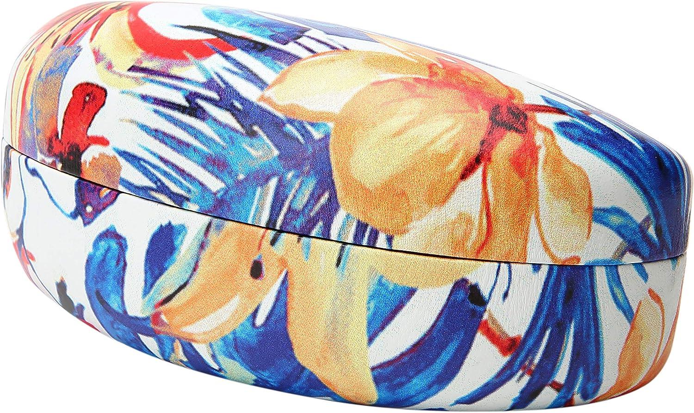 Edge I-Wear Large Hard Clamshell Sunglasses Case Women Eyewear Case Men B59