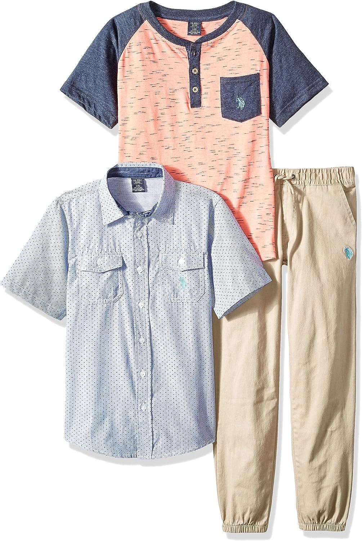 Sport Shirt and Pant Set Polo Assn U.S Boys T-Shirt