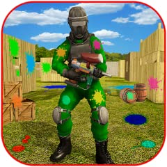 Ultimate Paintball Shooting Missions Experience Gun Fight in Extreme paintball Shooting Games Wonderful 3D Graphics and Details Engaging Sound Effects Enjoy endless modes of paintball Battle Arena Free for All Mode