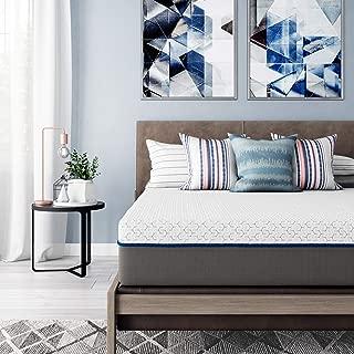 Signature Sleep Flex 10-Inch Charcoal Gel Memory Foam Mattress, Full Size