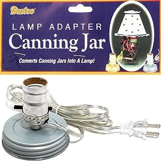 Canning Jar Lamp Adapter-Zinc Ring