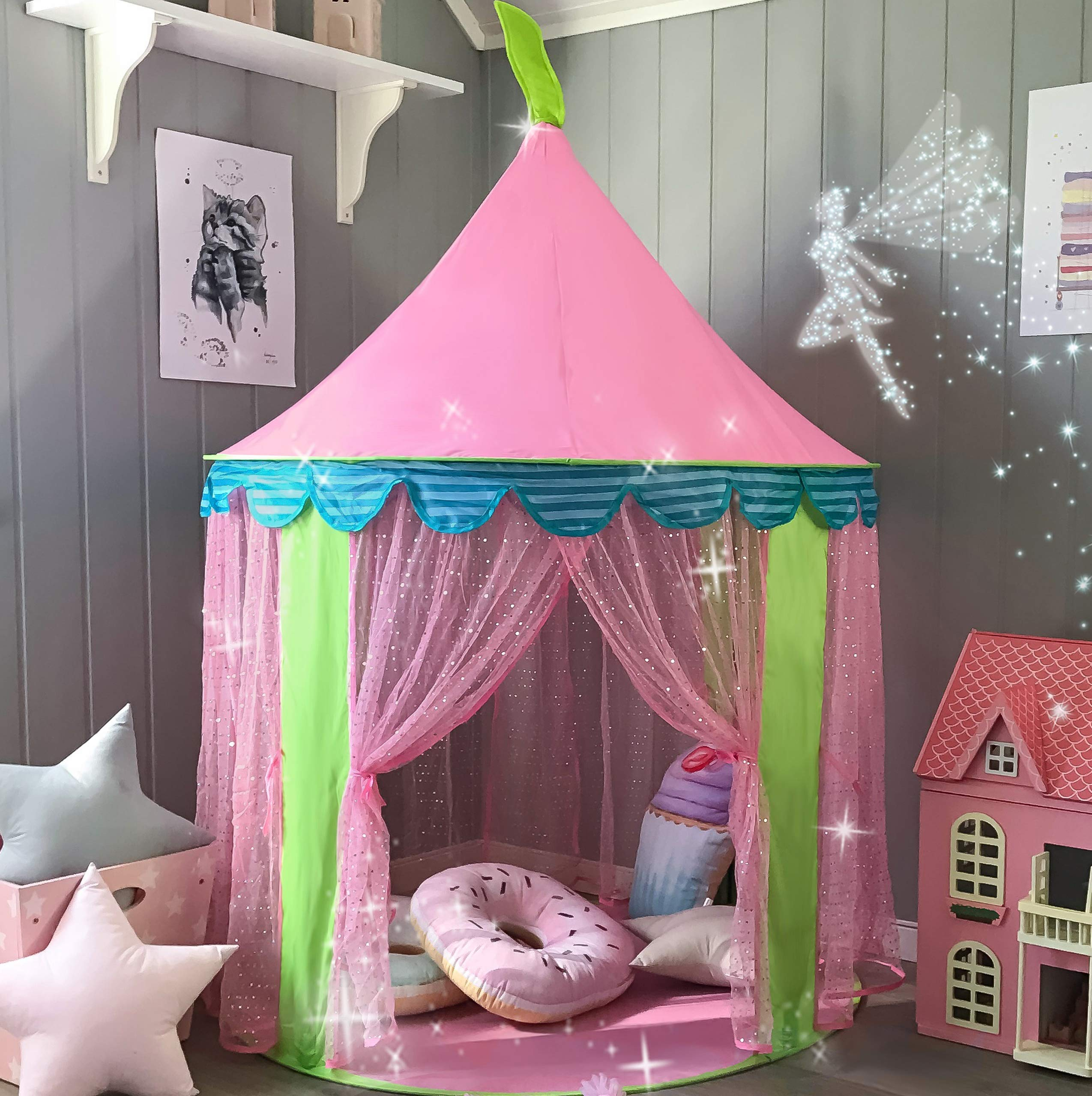Children Princess Outdoor Tiny Land