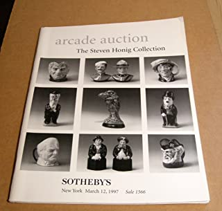Arcade Auction: The Steven Honig Collection of Royal doulton and Martin Brothers Pottery, March 12, 1997, Sale 1566