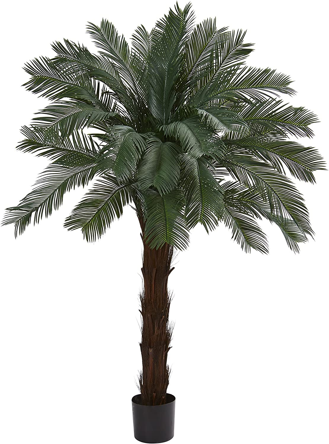 Nearly Natural Artificial Mail order UV Cycas Challenge the lowest price Resistant 6†Tree