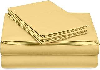pinzon 300-thread-count percale all-cotton queen sheets
