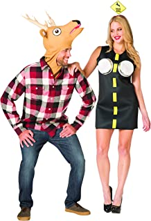 Rasta Imposta - Deer In Headlights Couple Costume