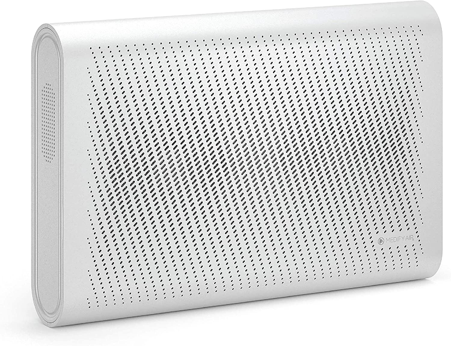 Medify MA-35 Air Purifier with H13 HEPA filter - a higher grade of HEPA | Wall Mounted | 99.9% Removal in a Modern Design Silver 1-Pack