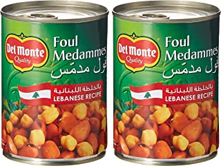 Del Monte Foul Lebanese Canned Recipe Ezo ,400 gms - (Pack of 3)