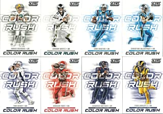 2018 Panini Score Football Color Rush 2018 Insert Set 20 Cards Rodgers Wentz Newton Antonio Brown Carr
