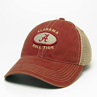 the latest 675d1 ac1bf Legacy Alabama Crimson Tide Hat Adjustable Trucker Style