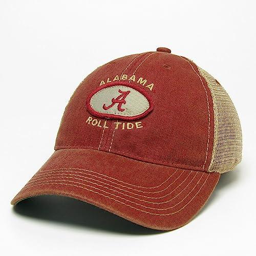 Legacy Alabama Crimson Tide Hat Adjustable Trucker Style cabe5775d05