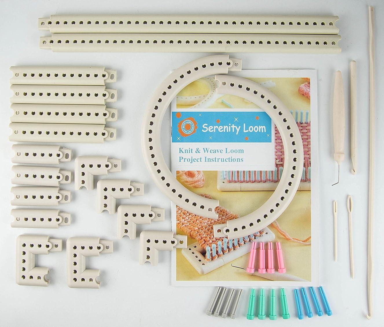 Feici - Multi-function Craft Yarn 5000-100 Knitting Board Knit Weave Loom Kit DIY Tool