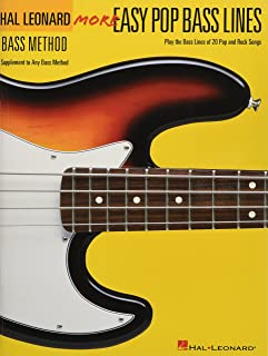 More Easy Pop Bass Lines: Supplemental Songbook to Book 2 of the Hal Leonard Bass Method