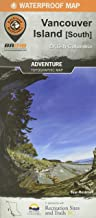 Vancouver Island South Adventure Topographic Map Backroad Mapbook
