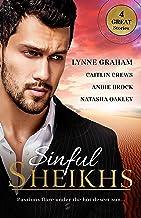 Sinful Sheikhs - 4 Book Box Set (Scandalous Sheikh Brides 1)